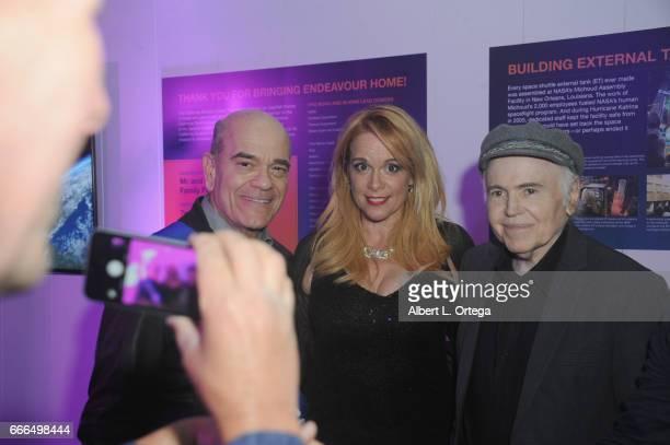 Actors Robert Picardo Chase Masterson and Walter Koenig attend Yuri's Night LA held on April 8 2017 in Los Angeles California