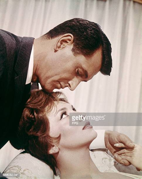 Actors Rock Hudson and Gina Lollobrigida star in the film 'Come September' 1961