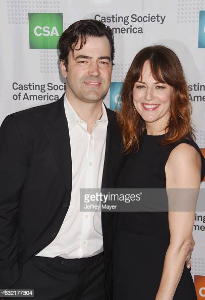 Actors Ron Livingston and Rosemarie DeWitt arrive at the 2017 Annual Artios Awards at The Beverly Hilton Hotel on January 19 2017 in Beverly Hills...