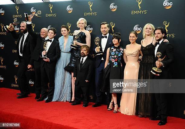Actors Rory McCann Conleth Hill Iwan Rheon Gwendoline Christie Peter Dinklage Nikolaj CosterWaldau Maisie Williams Emilia Clarke Sophie Turner and...