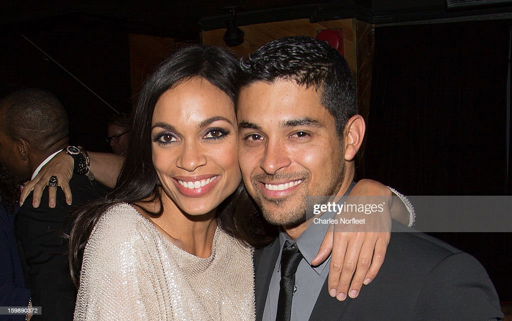 Actors <a gi-track='captionPersonalityLinkClicked' href=/galleries/search?phrase=Rosario+Dawson&family=editorial&specificpeople=201472 ng-click='$event.stopPropagation()'>Rosario Dawson</a> and <a gi-track='captionPersonalityLinkClicked' href=/galleries/search?phrase=Wilmer+Valderrama&family=editorial&specificpeople=202028 ng-click='$event.stopPropagation()'>Wilmer Valderrama</a> attend the Voto Latino 'Welcome To 1600 Part II' Inaugural Gala at Josephine on January 21, 2013 in Washington, DC.