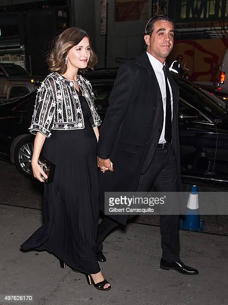Actors Rose Byrne and Bobby Cannavale are seen arriving at The Museum of Modern Art's 8th Annual Film Benefit honoring Cate Blanchett at The Museum...