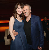 Actors Rosemarie DeWitt and Josh Pais attend the Touchy Feely Los Angeles Screening at the Landmark Theater on August 20 2013 in Los Angeles...