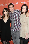 Actors Rosemarie DeWitt Mark Duplass and Emily Blunt attend the 'Your Sister's Sister' premiere held at The MARC Theatre during the 2012 Sundance...