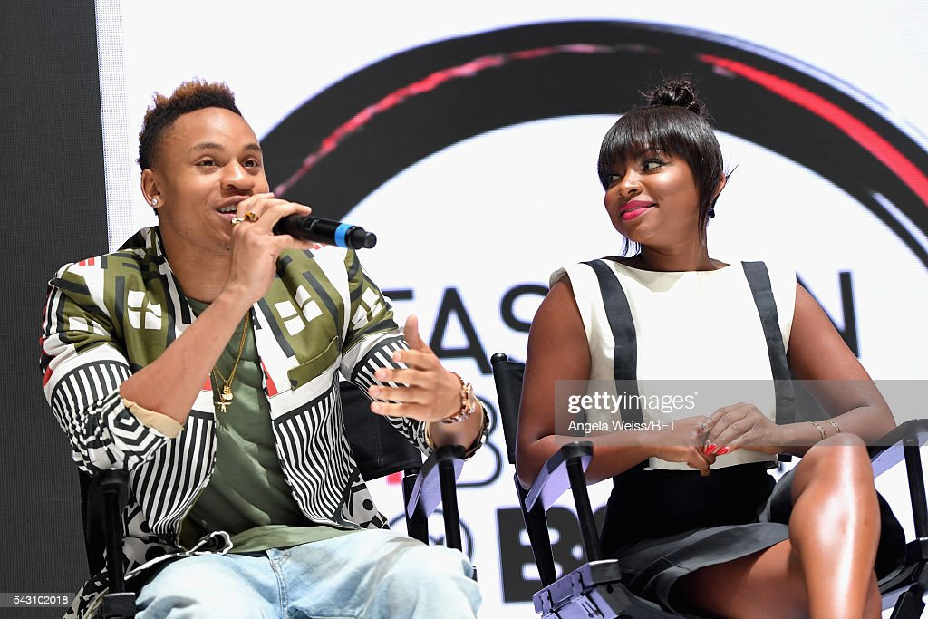 Actors <a gi-track='captionPersonalityLinkClicked' href=/galleries/search?phrase=Rotimi&family=editorial&specificpeople=4249959 ng-click='$event.stopPropagation()'>Rotimi</a> Akinosho (L) and <a gi-track='captionPersonalityLinkClicked' href=/galleries/search?phrase=Naturi+Naughton&family=editorial&specificpeople=2559512 ng-click='$event.stopPropagation()'>Naturi Naughton</a> attend the Fashion & Beauty TOAST TO SUCCESS PANEL & Meet and Greet presented by Korbel during the 2016 BET Experience on June 25, 2016 in Los Angeles, California.