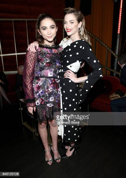 Actors Rowan Blanchard and Jaime King attend the tenth annual Women in Film PreOscar Cocktail Party presented by Max Mara and BMW at Nightingale...