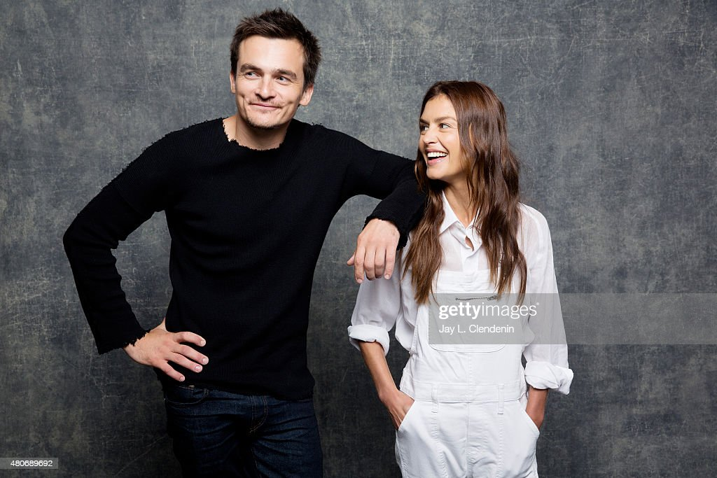 Actors Rupert Friend and Hannah Ware of 'Hitman: Agent 47' pose for a portrait at Comic-Con International 2015 for Los Angeles Times on July 9, 2015 in San Diego, California. PUBLISHED IMAGE.