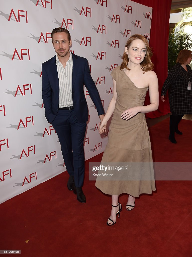actors-ryan-gosling-and-emma-stone-attend-the-17th-annual-afi-awards-picture-id631096498