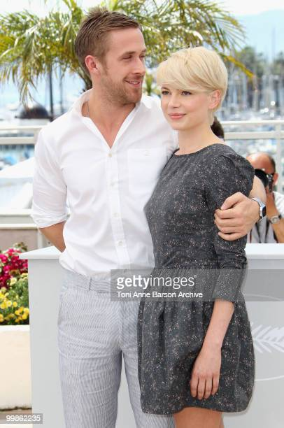 Actors Ryan Gosling and Michelle Williams attend the 'Blue Valentine' Photo Call held at the Palais des Festivals during the 63rd Annual...