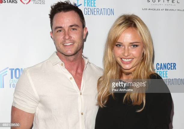 Actors Ryan Kelley and Madison McKinley attend the 4th annual 'Ante Up For A Cancer Free Generation Poker Tournament And Casino Night' at Sofitel Los...