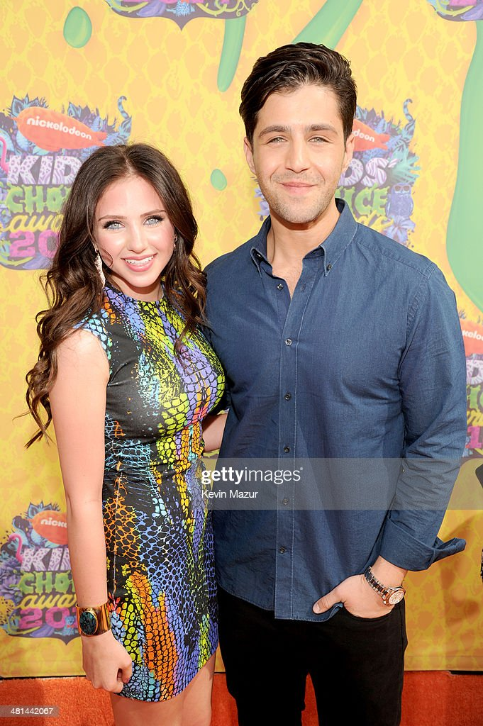 Actors Ryan Newman and <a gi-track='captionPersonalityLinkClicked' href=/galleries/search?phrase=Josh+Peck&family=editorial&specificpeople=210522 ng-click='$event.stopPropagation()'>Josh Peck</a> attend Nickelodeon's 27th Annual Kids' Choice Awards held at USC Galen Center on March 29, 2014 in Los Angeles, California.
