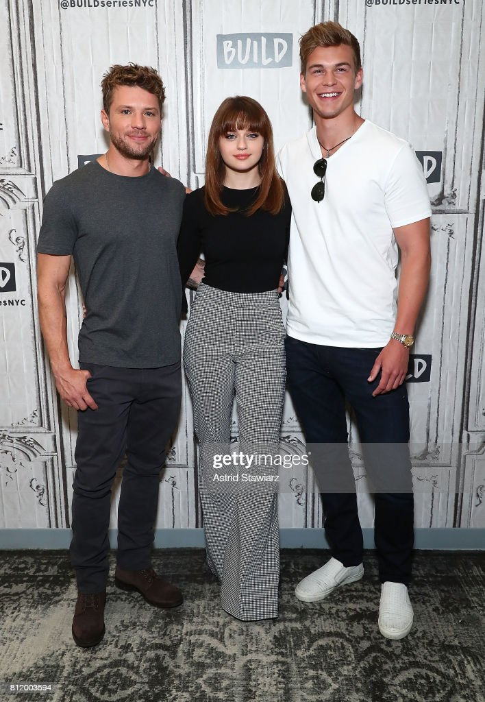 Actors Ryan Phillippe, Joey King and Mitchell Slaggert discuss their new film 'Wish Upon' at Build Studio on July 10, 2017 in New York City.