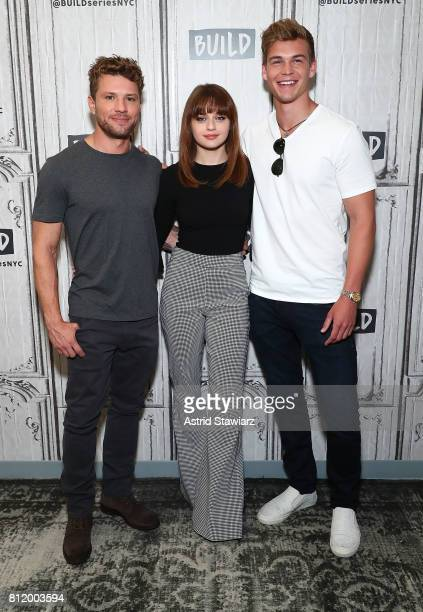 Actors Ryan Phillippe Joey King and Mitchell Slaggert discuss their new film 'Wish Upon' at Build Studio on July 10 2017 in New York City