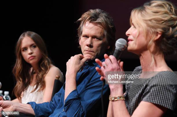 Actors Ryann Shane Kevin Bacon and Kyra Sedgwick take part in SAGAFTRA Foundation Conversations 'Story Of A Girl' at SAGAFTRA Foundation Robin...