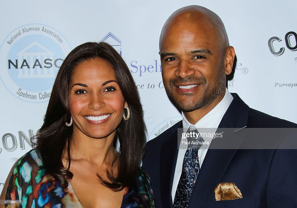 Actors <a gi-track='captionPersonalityLinkClicked' href=/galleries/search?phrase=Salli+Richardson&family=editorial&specificpeople=2717812 ng-click='$event.stopPropagation()'>Salli Richardson</a> (L) and <a gi-track='captionPersonalityLinkClicked' href=/galleries/search?phrase=Dondre+Whitfield&family=editorial&specificpeople=2098594 ng-click='$event.stopPropagation()'>Dondre Whitfield</a> attend the National Alumnae Association of Spelman College LA Chapter toasts 20 years of fundraising on March 8, 2014 in Los Angeles, California.