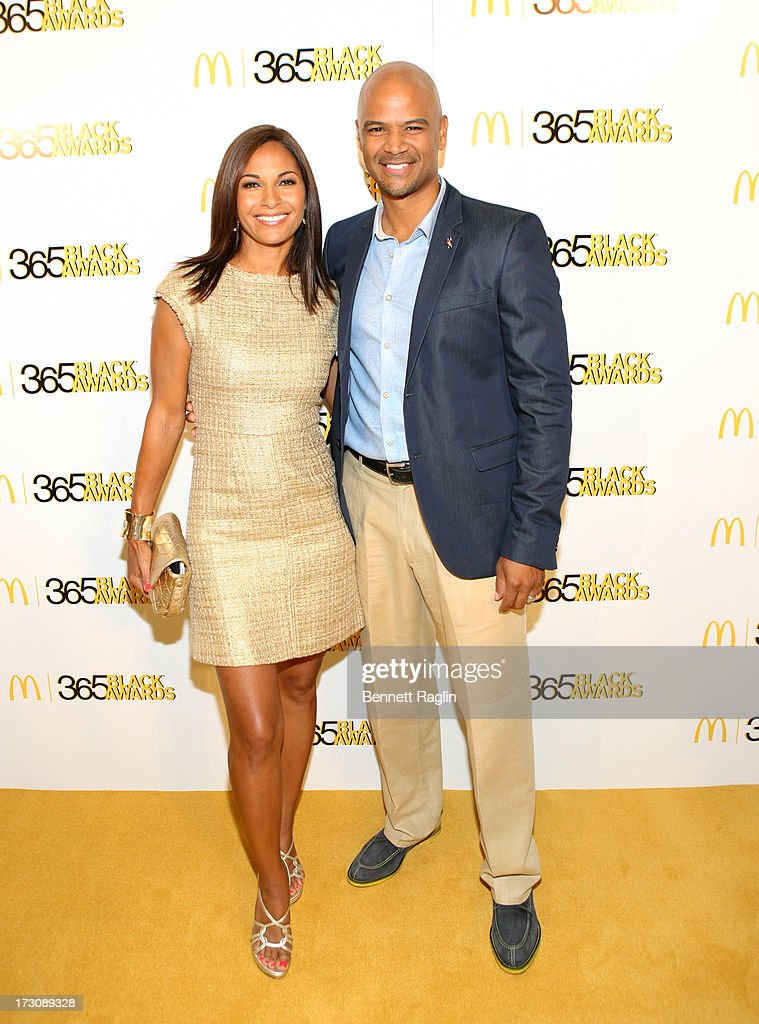 Actors Salli Richardson Whitfield and Dondre Whitfield attend the 2013 365 Black Awards at the Ernest N. Morial Convention Center on July 6, 2013 in New Orleans, Louisiana.