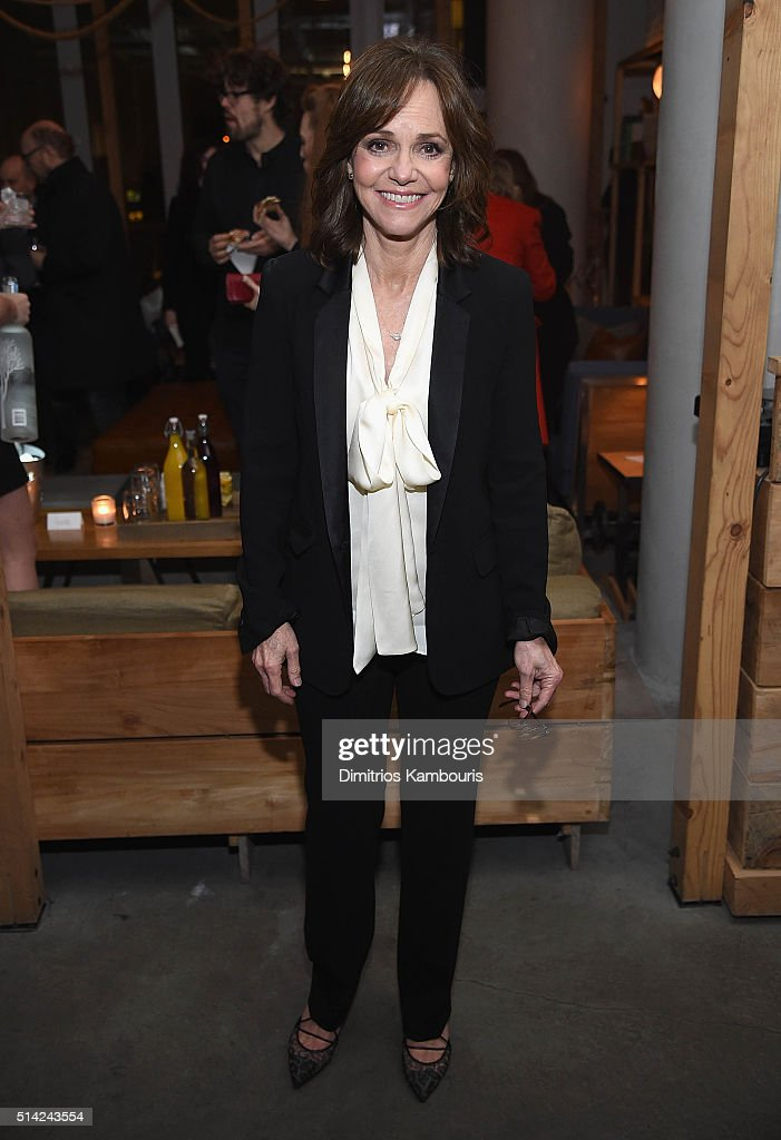 Actors Sally Field attends the after party of the New York premiere Of 'Hello My Name Is Doris' hosted by Roadside Attractions with The Cinema...