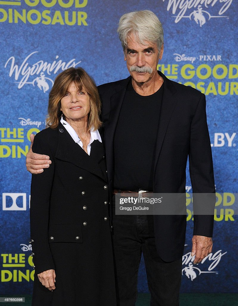 Actors Sam Elliott And Katharine Ross Arrive At The