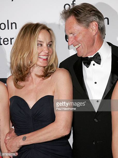 Actors Sam Shepard and Jessica Lange attend The Film Society of Lincoln Center honors Jessica Lange at Avery Fisher Hall April 17 2006 in New York...