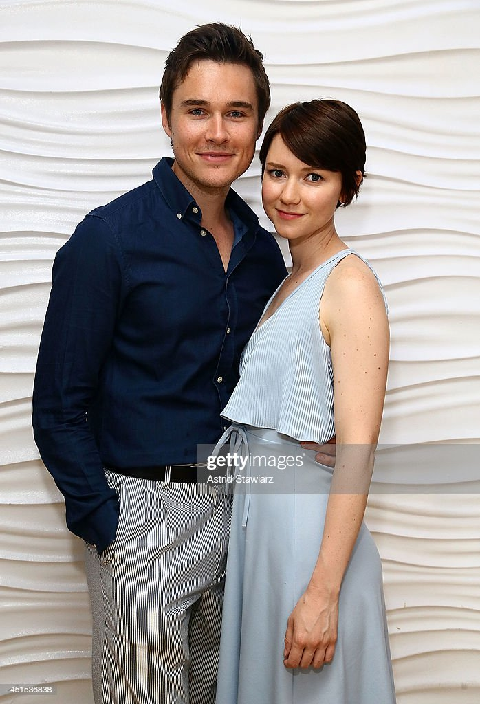 Actors Sam Underwood And Valorie Curry Attend The Broadway Sings For Pride Benefit Concert