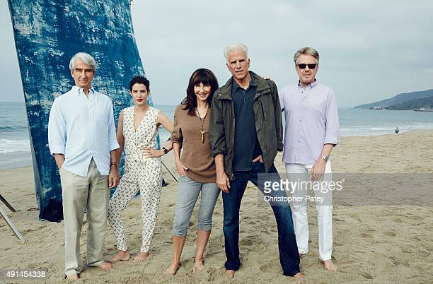 Actors Sam Waterston Mary Steenburgen Ted Danson Cobie Smulders and producer Keith Addis are photographed is support of Oceana for The Hollywood...