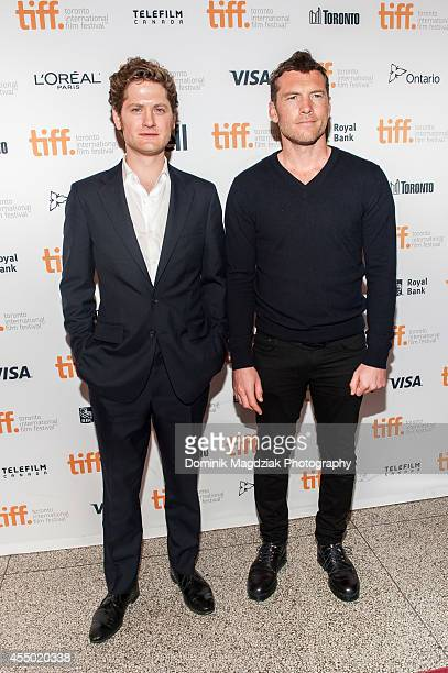 Actors Sam Worthington and Kyle Soller attend 'The Keeping Room' premiere at the Toronto International Film Festival at The Elgin on September 8 2014...