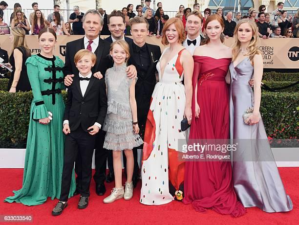 Actors Samantha Isler Charlie Shotwell Viggo Mortensen Matt Ross Shree Crooks Nicholas Hamilton Trin Miller George MacKay Annalise Basso and Erin...