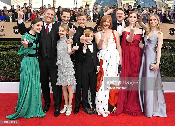 Actors Samantha Isler Viggo Mortensen Matt Ross Shree Crooks Nicholas Hamilton Charlie Shotwell Trin Miller George MacKay Annalise Basso and Erin...