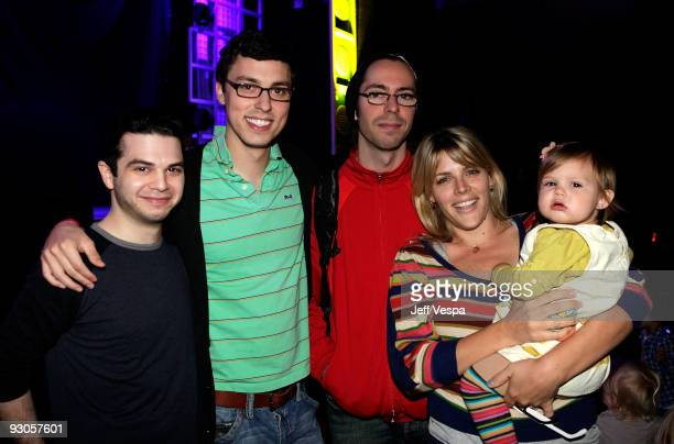 ACCESS*** Actors Samm Levine John Francis Daley Martin Starr Busy Philipps and daughter Birdie Leigh Silverstein attend the first ever Yo Gabba Gabba...