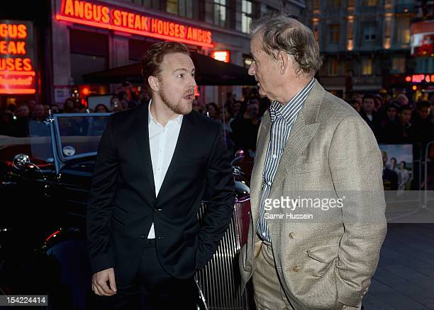 Actors Samuel West and Bill Murray attend the ''Hyde Park on Hudson' premiere during the 56th BFI London Film Festival at the Empire Leicester Square...