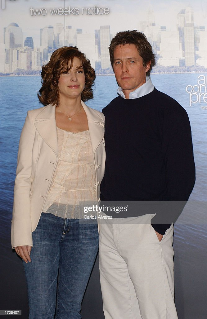Hugh Grant And Sandra Bullock Promote New Movie Two Weeks Notice – Two Weeks Notice