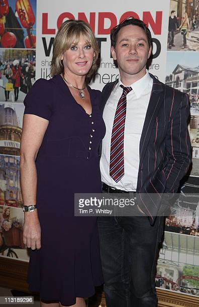 Actors Sarah Lancashire and Reece Shearsmith attend a Royal Wedding International Media Event in London West End at Lancaster House on April 26 2011...
