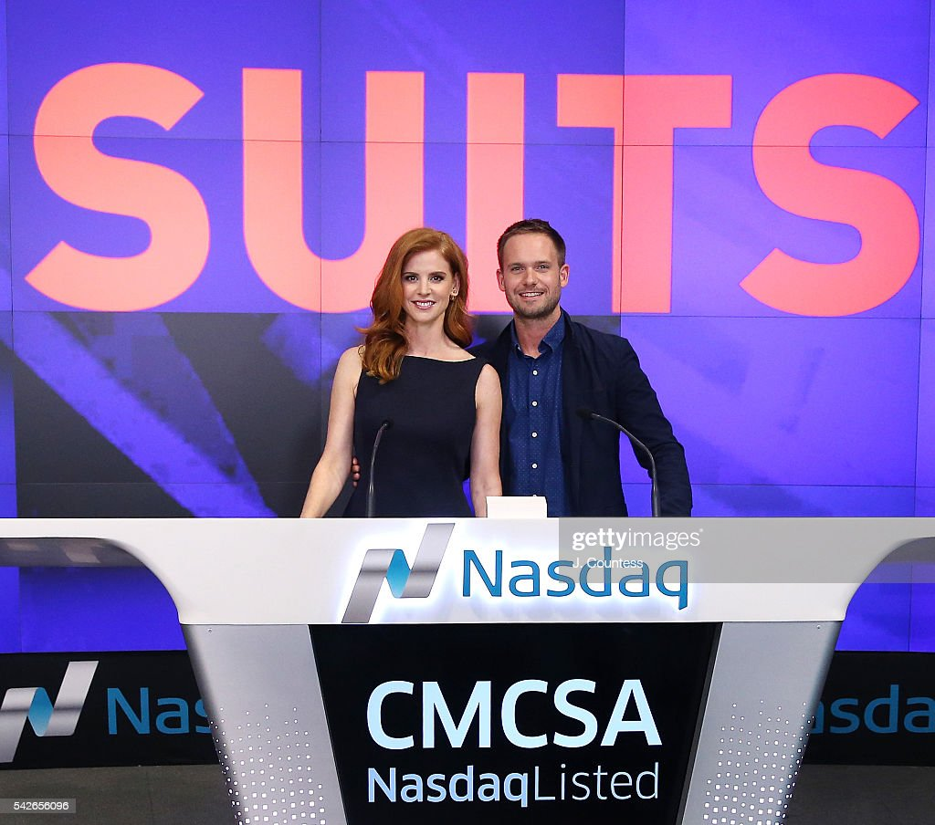 """USA Network's """"Suits"""" Rings The Nasdaq Stock Market Closing Bell"""
