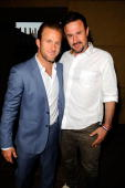 Actors Scott Caan and David Arquette arrive at the Los Angeles premiere of IFC Films' 'Mercy' at the Egyptian Theatre on May 3 2010 in Hollywood...