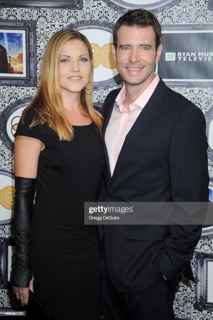 Actors <a gi-track='captionPersonalityLinkClicked' href=/galleries/search?phrase=Scott+Foley&family=editorial&specificpeople=615795 ng-click='$event.stopPropagation()'>Scott Foley</a> and <a gi-track='captionPersonalityLinkClicked' href=/galleries/search?phrase=Marika+Dominczyk&family=editorial&specificpeople=797591 ng-click='$event.stopPropagation()'>Marika Dominczyk</a> arrive at the Family Equality Council's Annual Los Angeles Awards Dinner at The Globe Theatre on February 8, 2014 in Universal City, California.