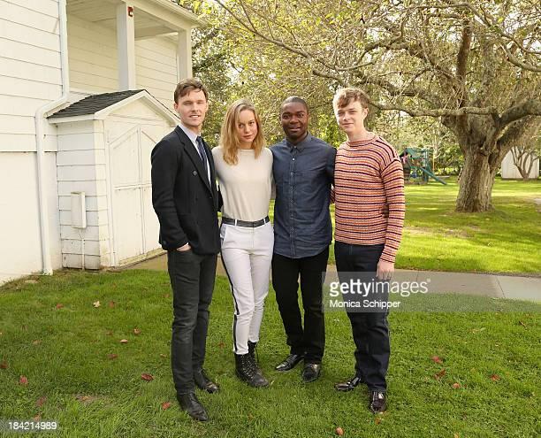 Actors Scott Haze Brie Larson David Oyelowo and Dane DeHaan attend the 21st Annual Hamptons International Film Festival on October 12 2013 in East...