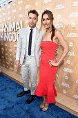 Actors Scott Speedman and Daniella Alonso attend the TNT 'Animal Kingdom' S1 Premiere on June 8 2016 in Venice California 26227_001