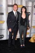 Actors Sean Bean and Lena Headey arrive at Spike TV's 'SCREAM 2011' awards held at Universal Studios on October 15 2011 in Universal City California
