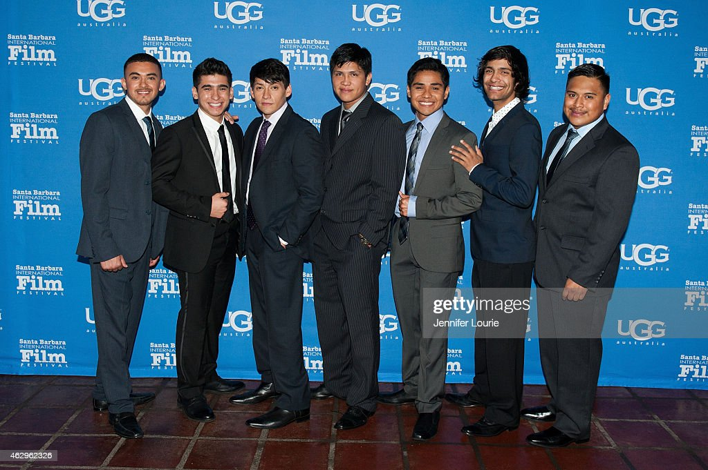 Actors Sergio Avelar Hector Duran Carlos Pratts Johnny Ortiz Rafael Martinez Michael Aguero and Ramiro Rodriguez attend the Closing Night of the 30th...