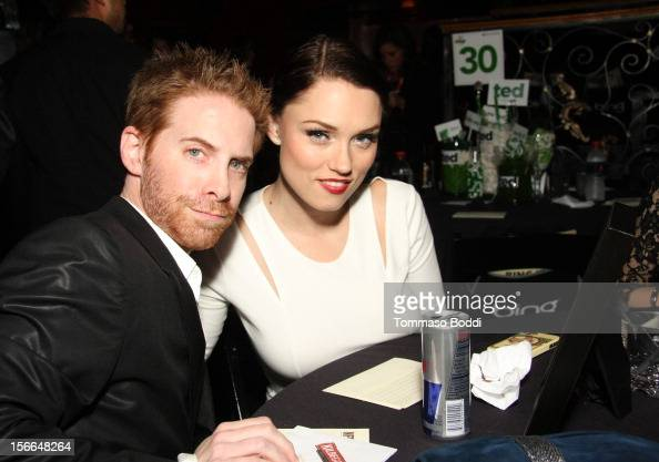 Actors Seth Green and Clare Grant attend Variety's 3rd annual Power of Comedy event presented by Bing benefiting the Noreen Fraser Foundation held at...
