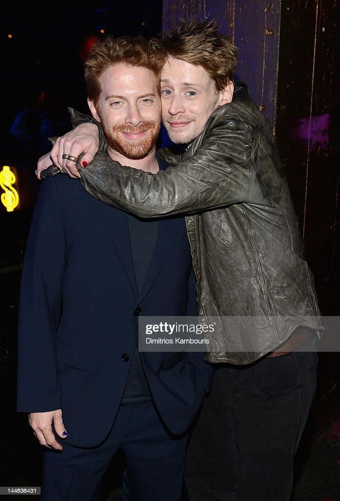 Actors Seth Green and Macaulay Culkin attend the 2012 Adult Swim Upfront Party at Roseland Ballroom on May 16 2012 in New York City 22455_001_0190JPG