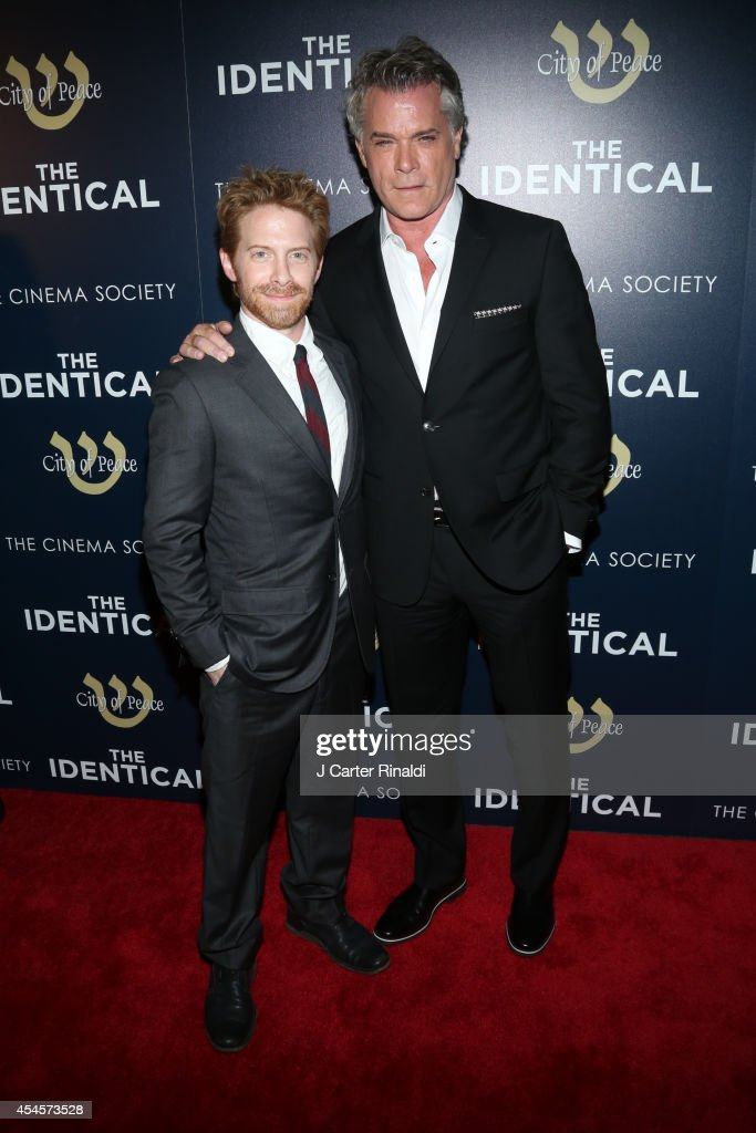 Actors Seth Green and Ray Liotta attend the City Of Peace Films with The Cinema Society host the premiere of 'The Identical' at SVA Theater on...