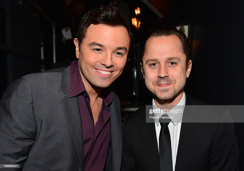 Actors Seth MacFarlane and Giovanni Ribisi attend Variety's 3rd annual Power of Comedy event presented by Bing benefiting the Noreen Fraser Foundation held at Avalon on November 17, 2012 in Hollywood, California.