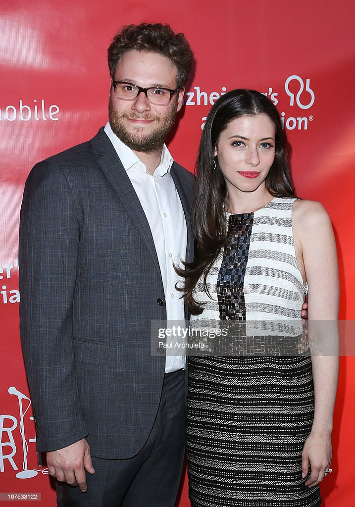 Actors <a gi-track='captionPersonalityLinkClicked' href=/galleries/search?phrase=Seth+Rogen&family=editorial&specificpeople=3733304 ng-click='$event.stopPropagation()'>Seth Rogen</a> (L) and Lauren Miller (R) attend the 2nd annual Hilarity for Charity Event at Avalon on April 25, 2013 in Hollywood, California.