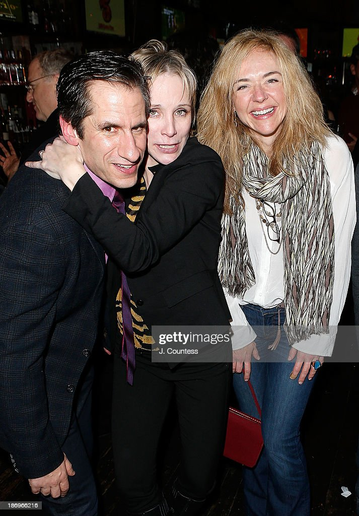Actors Seth Rudetsky Charlotte d'Amboise and Rachel Bay Jones attend the After Party for the Off Broadway Opening Night of 'Disaster' at Southern...