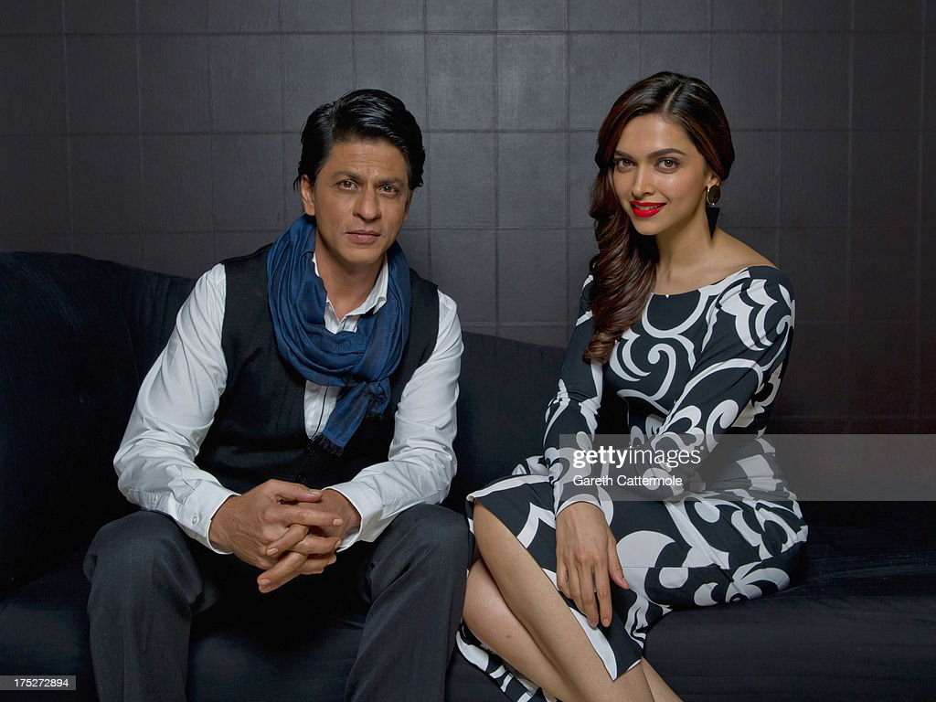 Shah Rukh Khan And Deepika Padukone - Portrait Session