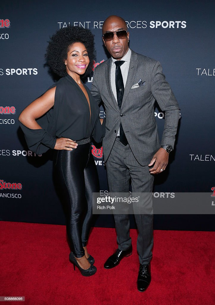 Actors Shahidah Omar (L) and J. B. Smoove attend Rolling Stone Live SF with Talent Resources on February 7, 2016 in San Francisco, California.