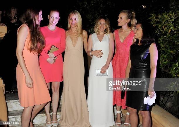 Actors Shailene Woodley Jessica Chastain Naomi Watts Ludivine Sagnier Diane Kruger and Executive Director of IFP Joana Vicente attend as The IFP...