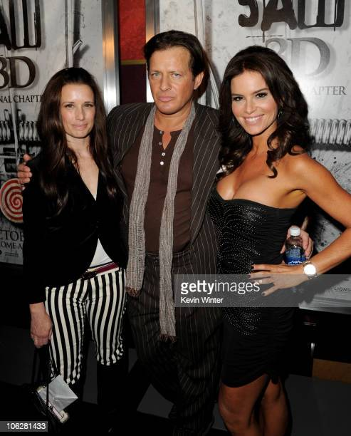 Actors Shawnee Smith Costas Mandylor and Betsy Russell arrive at a screening of Lionsgate's 'Saw 3D' at the Manns Chinese 6 Theaters on October 27...