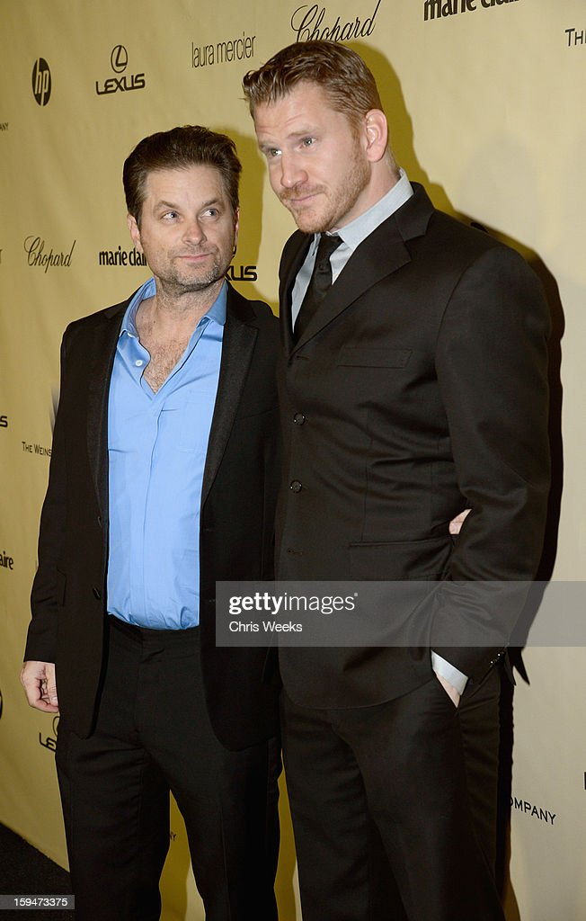 Actors Shea Whigham (L) and Dash Mihok attend The Weinstein Company's 2013 Golden Globe Awards after party presented by Chopard, HP, Laura Mercier, Lexus, Marie Claire, and Yucaipa Films held at The Old Trader Vic's at The Beverly Hilton Hotel on January 13, 2013 in Beverly Hills, California.